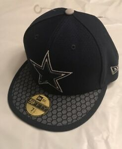 db0be94f Details about Men's Dallas Cowboys New Era Sideline Official 59FIFTY Fitted  Hat Cap NWT 7 1/4