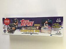 2016 Topps Baseball Factory Set ( Ichiro Chrome Refractor Card )