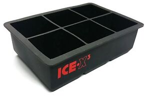 Cubes-glacons-gros-cube-carre-plateau-moules-Whiskey-Balle-Cocktails-silicone-Big
