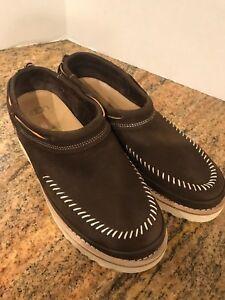 UGG Nubuck Campfire Slip On Chestnut Shoes NWT