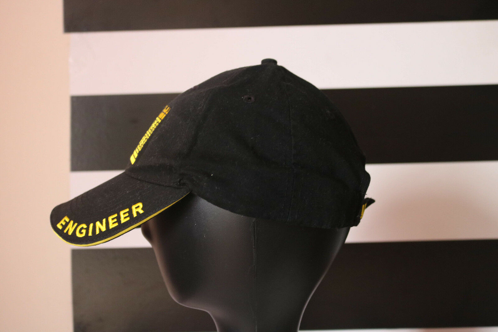 Eagle Crest U.S. Army Engineer Hat / Black Baseball Size Cap 100% Cotton One Size Baseball 0d0f82