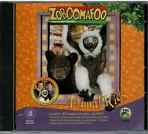 Zoboomafoo-Animal-Kids-Pc-Mac-Sealed-New-XP