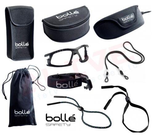 BOLLE Occhiali di Sicurezza Occhiali Protezione Custodia Regolabile Corda OCCHIO ACCESSORIO