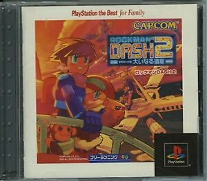 USED-PS1-PS-PlayStation-1-Rockman-DASH2-PlayStation-the-Best-for-Family