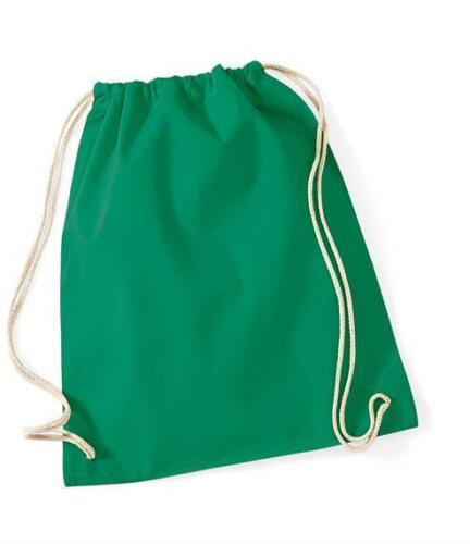 Personalised Bag Unicorn Girls PE Kit Dance Pink Gold Drawstring Bag Name School