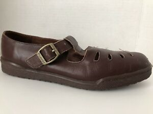 Propet-Shoes-Womens-Size-8-M-Brown-Mary-Jane-Loafers-8M-W3600