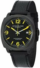 Stuhrling Original 451 33522 Men's Leisure Eagle Square Swiss Quartz Date Watch