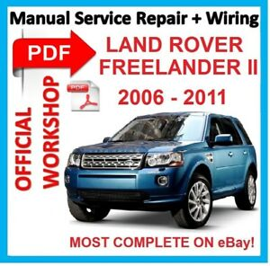 Land Rover Freelander 2 Workshop Repair Manual - Pdf Download