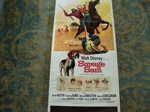 1963 Movie Poster Savage Sam