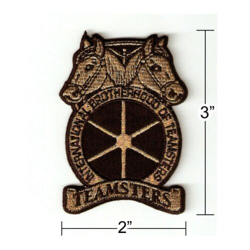 Teamsters Embroidered Iron-on Patch