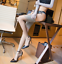 Women-Girl-Fashion-Harmony-Point-Nylon-Stockings-Cuban-Heel-Back-Seam-5-Color thumbnail 8