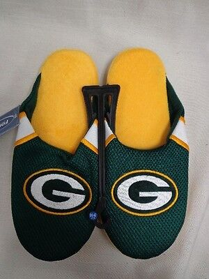 NFL Forever Collectibles Mens Jersey Mesh Slippers House Shoes 2015