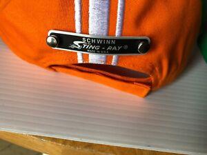 Stingray-Bicycle-Orange-Krate-Baseball-Cap-Schwinn-krate-hat-EMBRODERED