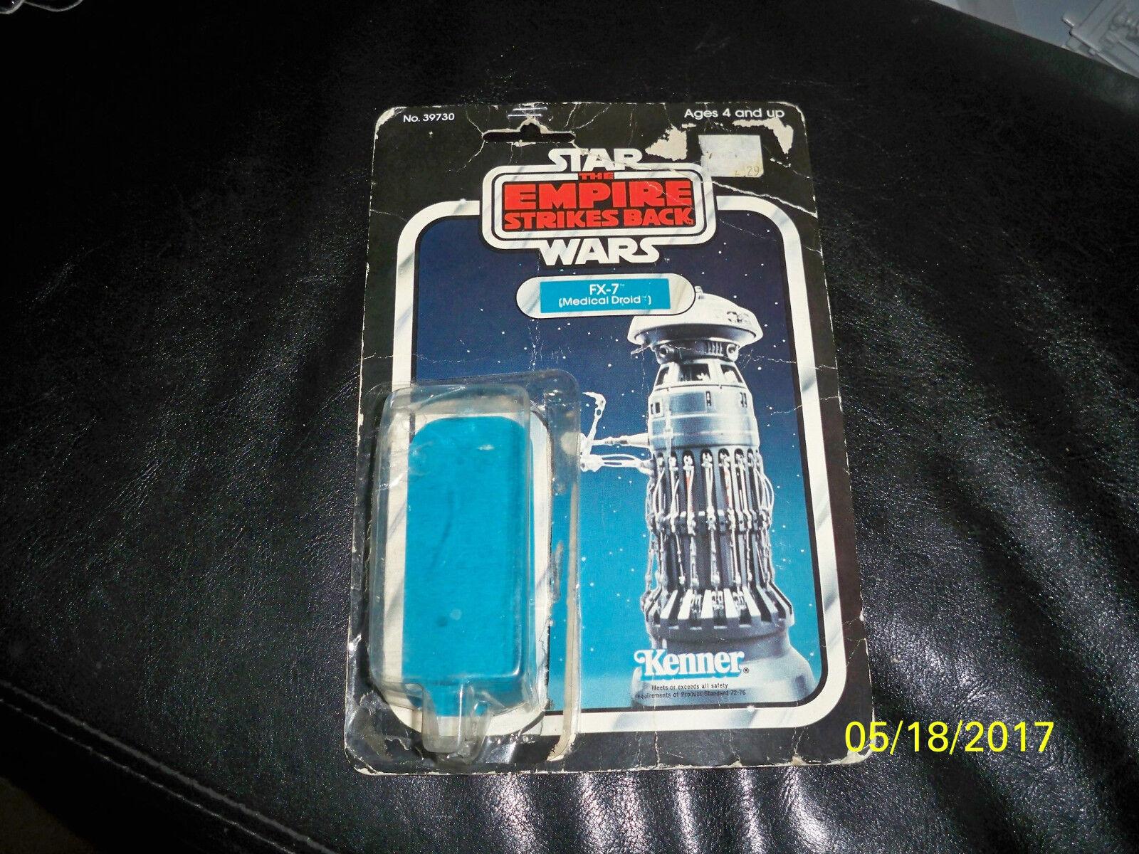 Vintage Star Wars Empire 31 Back FX-7 originalkort och bubbla