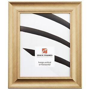 Craig-Frames-1-75-034-Contemporary-Brushed-Gold-Picture-Frames-amp-Poster-Frames
