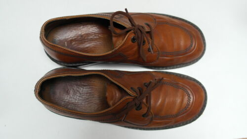 scarpe in mocassini 8 Salamandra 42 5 scarpe vero vintage Uk D uomo pelle stringate HEwwB5qP