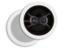 "6-1/2"" Glass Composite 3-Way, Dual Voice Coil, Stereo In-Ceiling Speaker (Pair)"