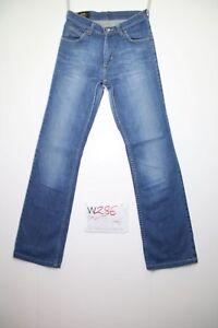 Lee-bootcut-acortado-Cod-W286-Tg-41-W27-L30-vaqueros-talle-alto-usado-vintage