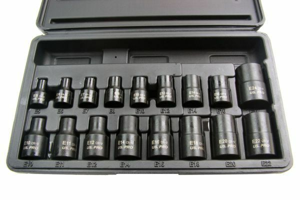 US PRO Tools 17pc 3/8