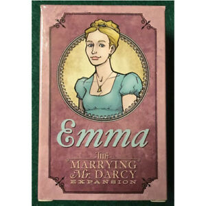 Marrying Mr Darcy Emma Expansion a Strategic Card Game for Adults and Teens