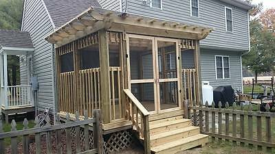 Pressure Treated Pergola built on your property.