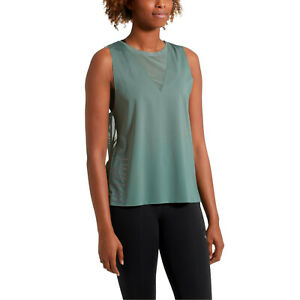 PUMA Explosive Deep-V Tank Top Damen Training Sport Fitness Shirt Grün 516724-02