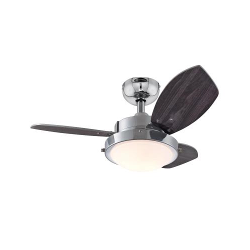 Westinghouse Techno Ii Ceiling Fan With Dimmable Light Titanium For Sale Online Ebay