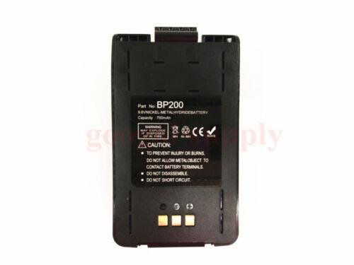 BP-200 Battery For Icom IC-A23 IC-A5 IC-T8 IC-T81 BP-200H 700mAh 9.6v