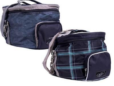 Luxusausstattung Reithelmtasche 5 verschiedene Designs Helmtasche von QHP