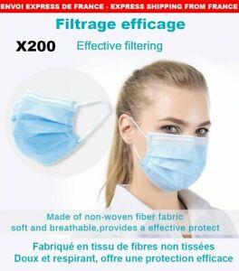 200 masques de protection 45€ port compris