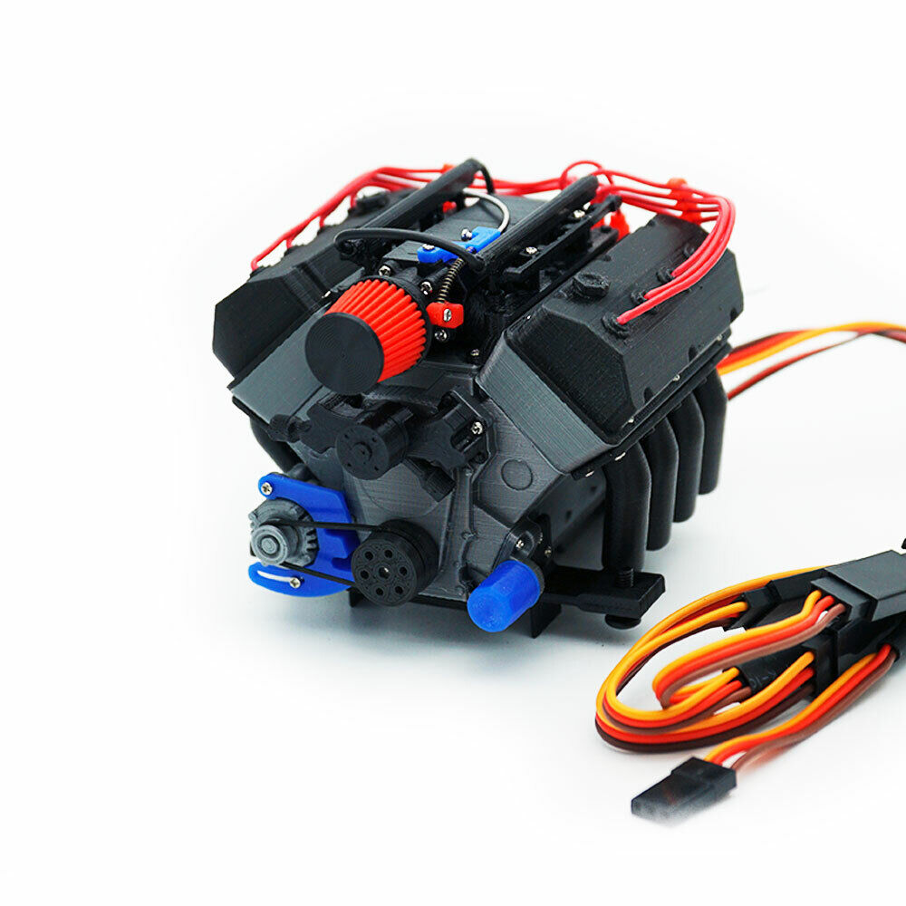 DarkDragonWing 1 10 RC OHV V8 H FI RD  Engine Assembled  comprare a buon mercato