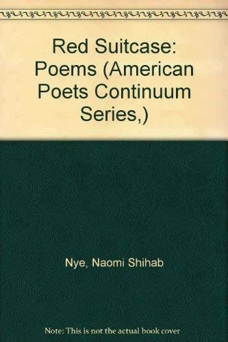 Red Suitcase (American Poets Continuum) - Hardcover - VERY GOOD
