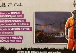 Details about PS4 Watch Dogs 2 Zodiac Killer Mission DLC
