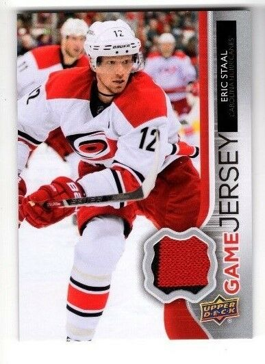2014-15 UPPER DECK GAME JERSEY ERIC STAAL #GJ-ES