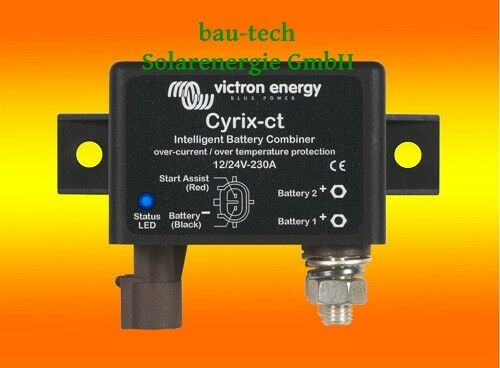 Victron Cyrix-ct 12 12 Cyrix-ct 24V 230A intelligenter Batteriekoppler / Batterietrenner 018c36