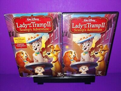 Disney Lady And The Tramp Ii Scamps Adventure Dvd 2006 B485 786936701982 Ebay