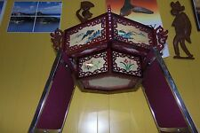 """Asian Chinese Palace Wooden Ceiling Lantern. Please Purchase """"one"""" at a time."""