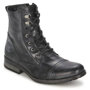 5ebd97e48a9 Details about Handmade Men military style leather boots, Men Combat boots,  Men ankle boots