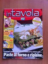 Rivista IN TAVOLA - SORRISI E CANZONI TV - N. 89 Febbraio 2006 Ricette con foto