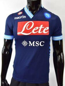 2012 13 Macron Ssc Napoli Away Football Shirt Size S Adults Ebay