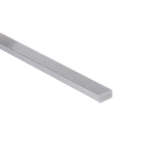"""0.25/"""" 1//4/"""" x 1//2/"""" Aluminum Flat Bar T6511 Mill Stock 6061 Plate 36/"""" Length"""