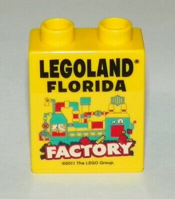 Rare Duplo Promo Brick LEGO Exclusive Welcome To Las Vegas Legoland CA 2007