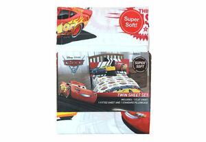 SFK Disney Cars Twin Sheet Set