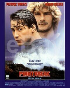 Point-Break-1991-Poster-Keanu-Reeves-Patrick-Swayze-10x8-Photo