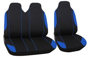 2+1 Bleu//Noir Polyester Sitzbezüge Housses De Protection Haute Qualité Neuf Pour VW Toyota