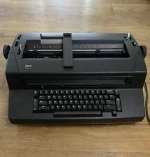 Vintage Black Ibm Correcting Selectric Iii Tested Working