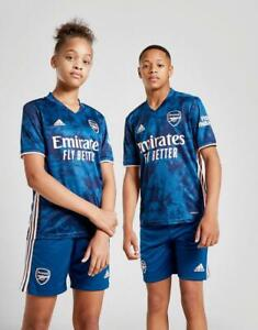 New Adidas Kids Arsenal Fc 2020 21 Third Shirt Ebay