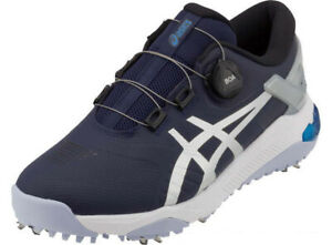 Details about Asics Japan Golf Shoes GEL-COURSE DUO Boa Soft Spike 1111A073 Navy