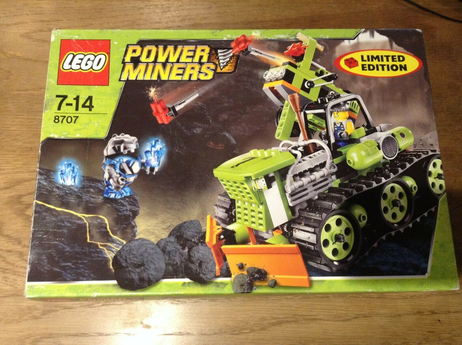 Lego power miners boulder balster en boite ref 8707