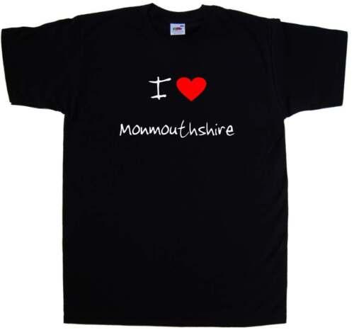 I Love Heart Monmouthshire T-Shirt